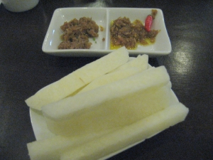 Traditional Bagoong with Singkamas